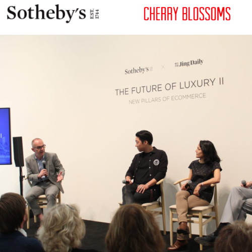 Sotheby's website cover